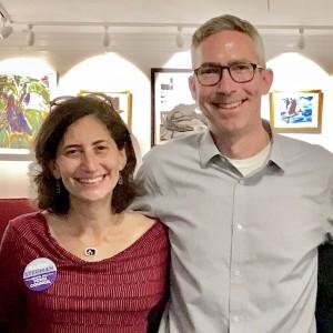 Karen Stegman and Damon Seils