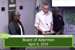 Damon Seils at Board of Aldermn